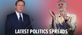 Spread bet on politics with Sporting Index