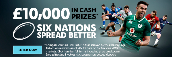 Spread Better - Six Nations Comp