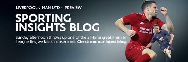 Sporting Insights Blog - Liverpool v Man United - Preview